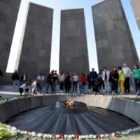 Armenia hails U.S. Congress move to recognize 'genocide' of its people at the hands of the Ottomans a century ago