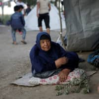 'Death better than this': Greece's Moria camp refugees decry conditions