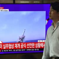 Pyongyang confirms test of new submarine-launched ballistic missile, says it did not threaten neighbors