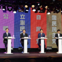 Abe clears decks for debate on amending Japan's Constitution