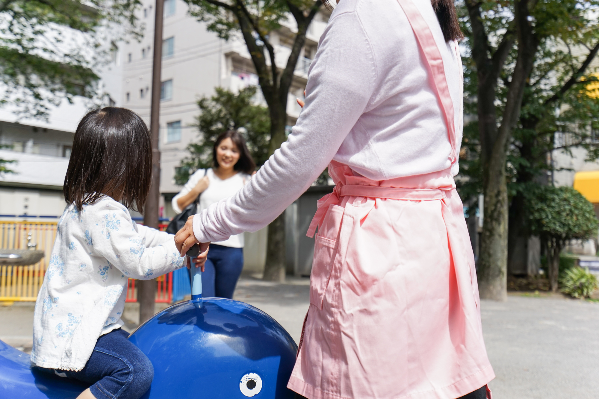 Early childhood education staff in Japan feel the least valued in society by children and parents among eight member countries of the OECD, according to a 2018 survey by the organization. | GETTY IMAGES
