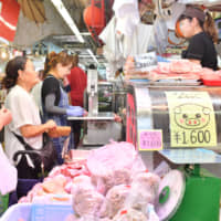 Okinawan pig farmers beef about U.S.-Japan trade deal while restaurants fire up grills