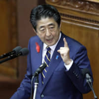 Abe Cabinet support rate falls to 53% after tax hike: poll