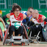 Wheelchair rugby team guns for share of spotlight as Japan excels at World Cup