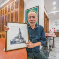 Fount of knowledge: Shigeru Shimoyama converted to Islam and gives tours to Japanese students at Tokyo Camii mosque. | KENDREA LIEW