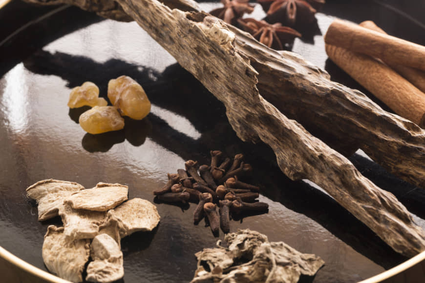 Breathe in the good: Juttoku's incense is of all-natural materials including white sandalwood, clove, cinnamon and star anise. | RYOICHI OKAZAKI