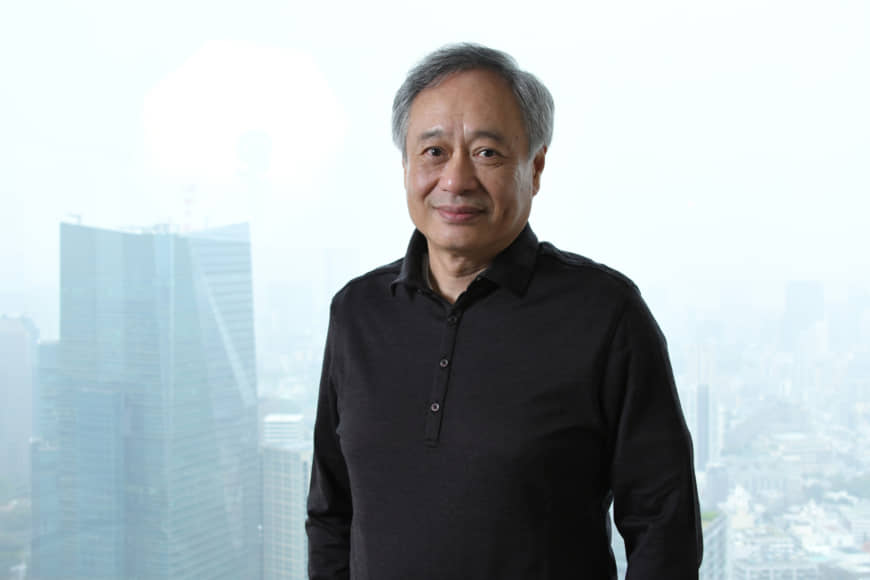 Movie magician: Ang Lee (right) is pioneering films of a quality beyond the capacity of most cinemas.