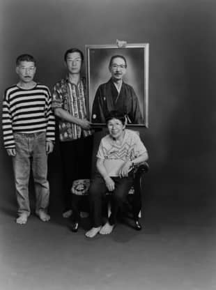 Portrait within the portrait: As Masahisa Fukase's photobook progresses, the images become tinged with sadness, as family members age, die and are replaced by portrait versions of themselves. | MASAHISA FUKASE