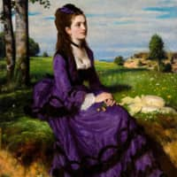 Pal Szinyei Merse's 'Lady in Violet' (1874) will be shown at 'Treasures from Budapest: European and Hungarian Masterpieces  from the Museum of Fine Arts, Budapest and the Hungarian National Gallery, Japan-Hungary Friendship 150th Anniversary' at The National Art Center, Tokyo.   © MUSEUM OF FINE ARTS, BUDAPEST  — HUNGARIAN NATIONAL GALLERY, 2019