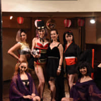 Camera-friendly: The Kuroneko Burlesque dancers encourage audience members to take photographs during shows and post them on social media. | KOTARO YAMAMOTO