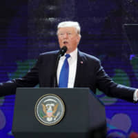 At the APEC summit in Danang, Vietnam in November 2017, President Donald Trump said the United States would no longer join multilateral trade deals but instead seek bilateral agreements, and only with countries that didn't try to exploit the U.S. | BLOOMBERG