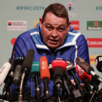 Coach Steve Hansen says pressure is on his All Blacks — but on England too