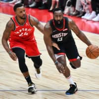 Pascal Siakam leads Toronto Raptors to victory over Houston Rockets in Japan