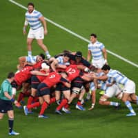 England whips Argentina, becomes first team to secure spot in RWC quarterfinals