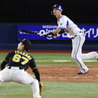 Tomo Otosaka delivers another clutch home run for BayStars