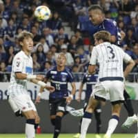 Gamba erupt for five second-half goals in rout of Consadole