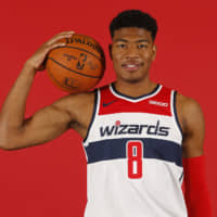 Rui Hachimura excited to get going as Wizards open training camp