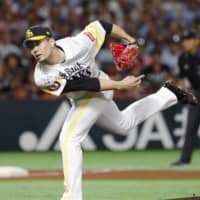 Ace Kodai Senga stellar again for Hawks in Japan Series opener