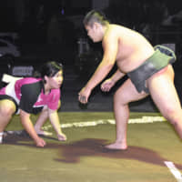 Slicker production needed for amateur sumo