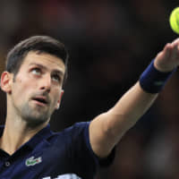 Novak Djokovic, Rafael Nadal advance to Paris Masters third round