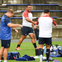England's Mako Vunipola offers prayers for people affected by Typhoon Hagibis