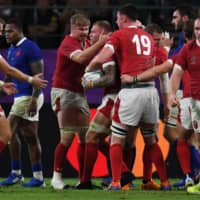 Wales edges France in thriller to make Rugby World Cup semifinals