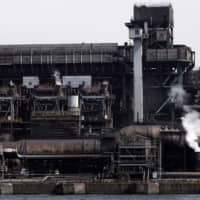 A JFE Steel Corp. plant in Chiba Prefecture | BLOOMBERG