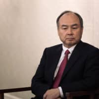 Masayoshi Son, SoftBank Group Corp. chairman and CEO, speaks at a conference in Taipei on June 22.   BLOOMBERG