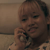 Hello from the other side: Hana makes a mysterious phone call after a tense moment with a roommate on 'Terrace House Tokyo 2019-2020.' | © FUJI TELEVISION / EAST ENTERTAINMENT