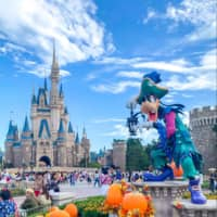 Goofy and his friends are often dressed up for Halloween and other holidays throughout the year. | CARISSA SHALE
