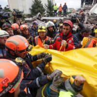 Rescuers find mom and three kids dead in Albanian house as earthquake toll hits 46, aftershocks top 500