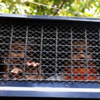 Suspects in the Holey Artisan Bakery attack are seen inside prison van as they are taken out of the court after hearing a verdict in Dhaka Wednesday. | REUTERS