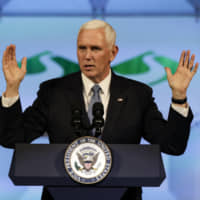 Trump says Vice President Mike Pence will be running mate in 2020 election