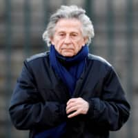 Film director Roman Polanski arrives at the Madeleine Church to attend a ceremony during a 'popular tribute' to late French singer and actor Johnny Hallyday in Paris in 2017. | REUTERS