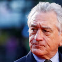 Cast member Robert De Niro arrives for the screening of 'The Irishman' during the 2019 BFI London Film Festival at the Odeon Luxe Leicester Square in London in October. | REUTERS