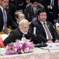 Abe considering visit to India in December in bid to draw Modi back to RCEP
