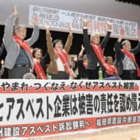 Fukuoka court orders Japan and firms to pay ¥350 million for health problems due to asbestos