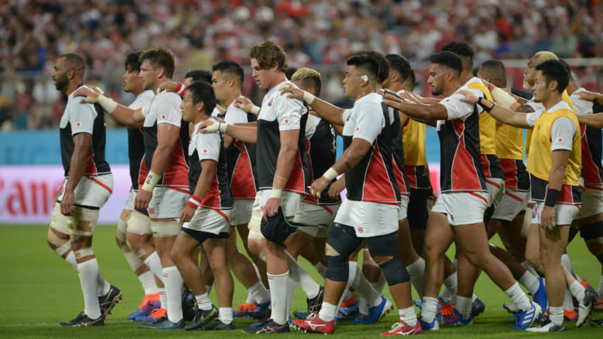 Japan's rugby, disasters and social change generate buzzwords in 2019