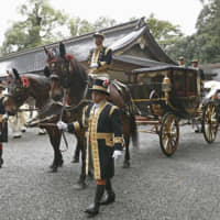Japan's emperor and empress mark end of enthronement ceremonies at Ise shrine