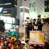 Halloween in Shibuya: Mayhem ensues despite increased security and ban on alcohol