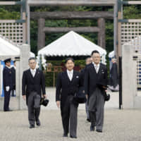 LDP heavyweights indicate tacit support for emperors from maternal line