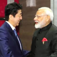 Abe and Modi agree to boost defense cooperation