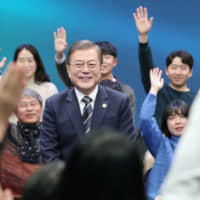 Moon holding out hope that Japan-South Korea intel-sharing pact can be saved