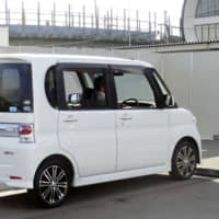 Vehicles equipped with safety functions for elderly drivers will likely be subject to a government subsidy. | KYODO