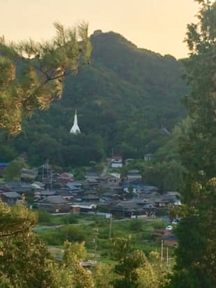 The houses that dot Shiraishi Island are filled with folk that are likely to stop and chat with any visitors, one of the island's many charms. | AMY CHAVEZ