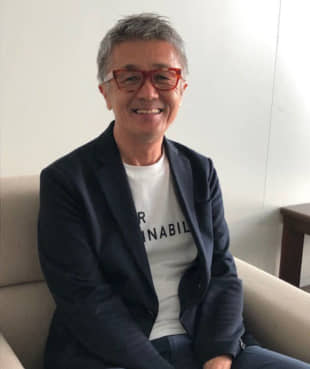 Climate conscious: Environmentalist Kazuhiko Nakaishi heads up Bio Hotels Japan and advocates for an organic and eco-friendly lifestyle through his hotels. | KYODO
