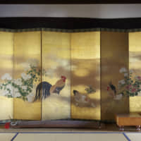 A natural glow: Until the Edo Period (1603-1868) the only way to view byōbu was in natural light or candlelight.