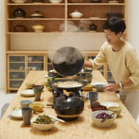 Open to all: Naoko Takei Moore says cooking with a donabe pot encourages a communal dining experience. | YOSHIHIRO MAKINO
