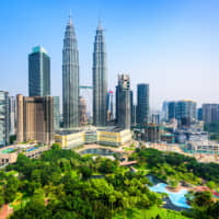 Since the late 1980s numerous Japanese-affiliated companies have entered Malaysia, with nearly 1,400 operating today. In the Klang Valley, with Kuala Lumpur at its center, there are about 950 such companies, according to the Japan External Trade Organization. | GETTY IMAGES