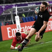 New Zealand hammers Wales in bronze-medal match